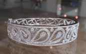 This diamond bangle does not disapoint!