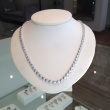Diamond Collar Necklace available in a variety of total diamond weights.