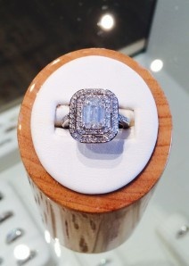 Emerald Cut Double Halo